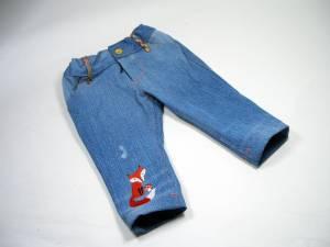 Jeanshose-fuchs