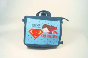 """Kindergartenrucksack """"Superheldin"""""""