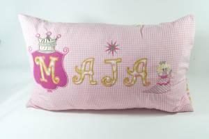 "Kissen ""Maja mit Prinzessin"", 40x60 cm"