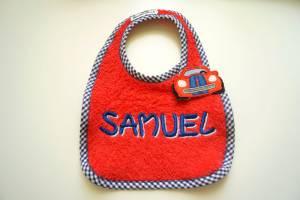 """Lätzchen """"Samuel"""" mit Auto-Verschluss"""