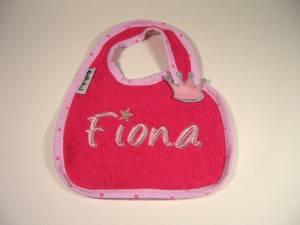 """Lätzchen """"Fiona"""" mit Krönchen-Verschluss"""