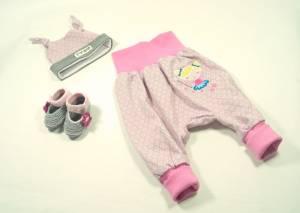 """Outfit """"rosa Blümchen / Zahnfee"""""""