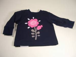 "Sweatshirt ""Blume"""