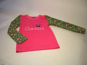 """Shirt """"Amélie"""" mit Eule"""