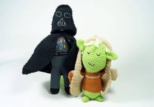 Darth Vader & Meister Yoda