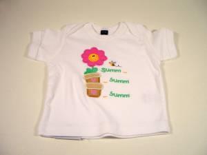 """T-Shirt """"Bienchen & Blümchen"""""""
