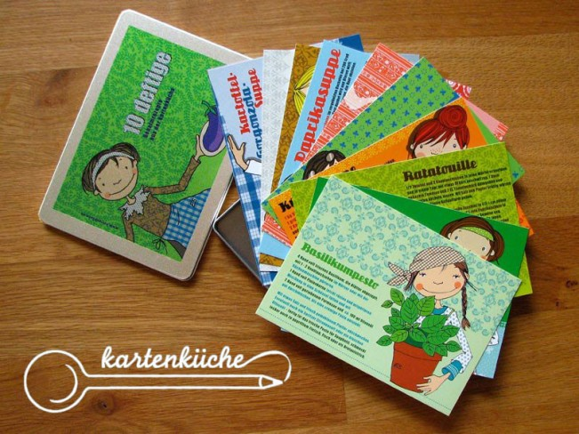 Kartenküche - Postkarten
